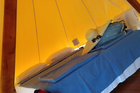 Glamping Tents at the Beach 4 persons
