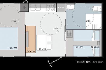 Mobile Home HC 4prs