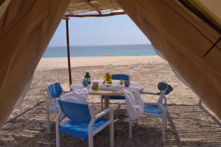 Luxury Tents at the Beach 4 persons
