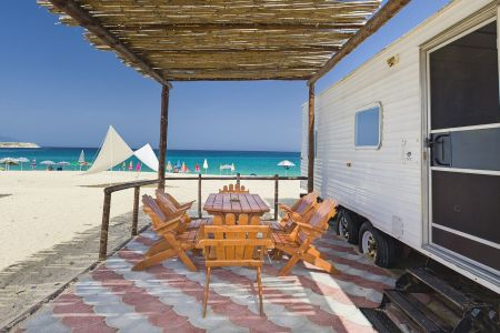 Caravans at the Beach 4-5 persons