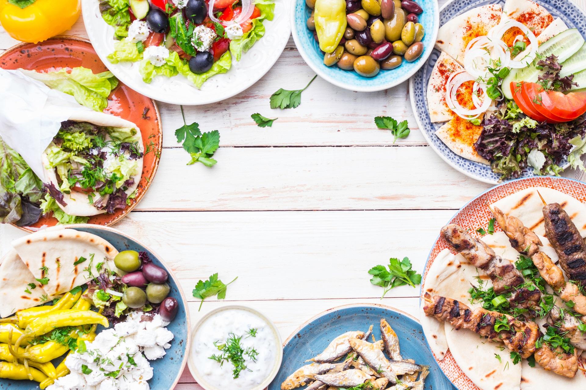 Griechische Küche - GASTRONOMIE -Thalatta kalamitsi village camp ...