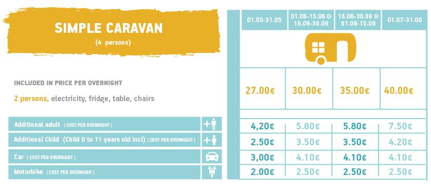 simple caravan