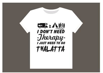 Thalatta Camp Therapy T-Shirt