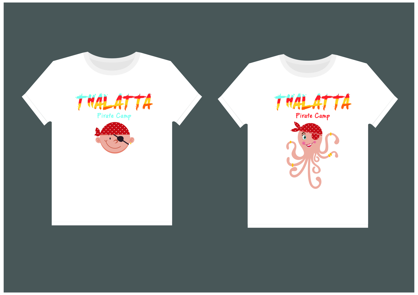 Thalatta Camp Kids T-Shirt